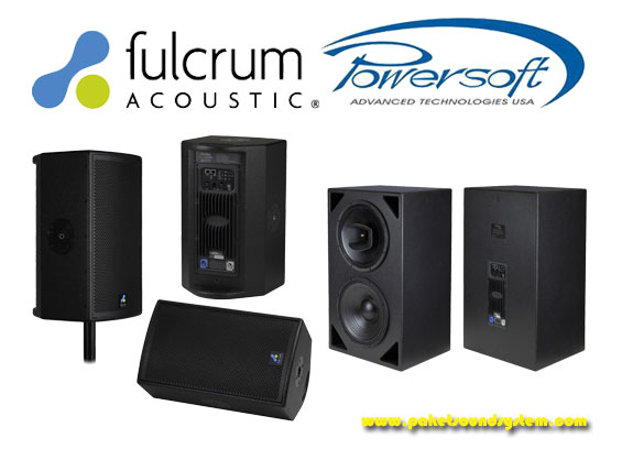 Kolaborasi Produsen Sound System Fulcrum Acoustic Dan Powersoft
