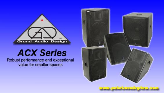 Sound System Profesional Grund Audio Design Seri ACX