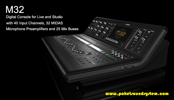 Mixer Audio Digital Midas M32