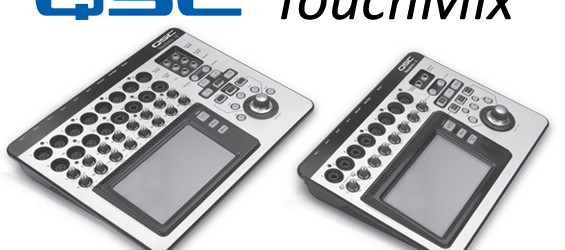 Mixer Audio Digital QSC TouchMix