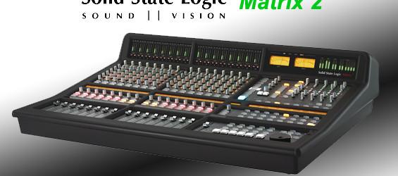 Mixer Audio Hybrid Solid State Logic Matrix2