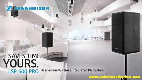 Terobosan Terbaru Sound System Wireless Portabel Sennheiser LSP 500 PRO