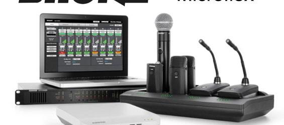 Sistem Mikrofon Wireless Profesional Shure Microflex