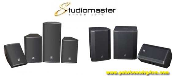 Speaker Aktif Studiomaster Seri Venture
