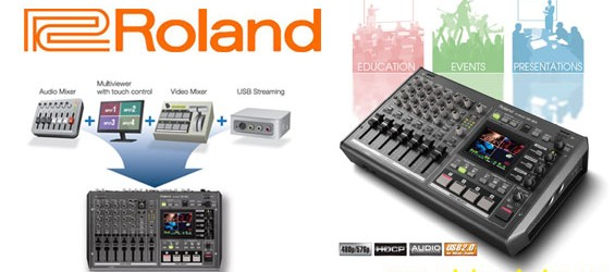 Mixer Audio Video Roland VR-3EX