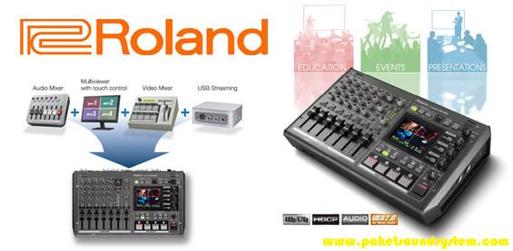 Mixer Audio Video Roland VR-3EX