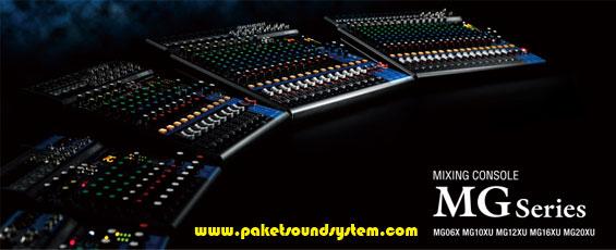 Upgrade Mixer Audio Yamaha Seri MG XU Terbaru