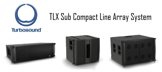 Sistem Speaker Line Array Turbosound Seri TLX