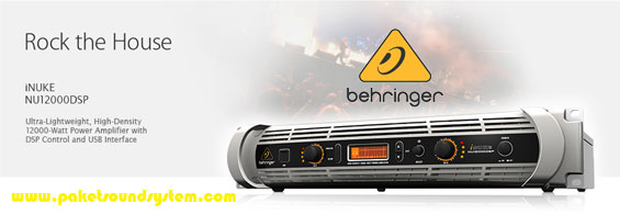 Power Amplifier 12.000 Watt Behringer iNuke 12000DSP