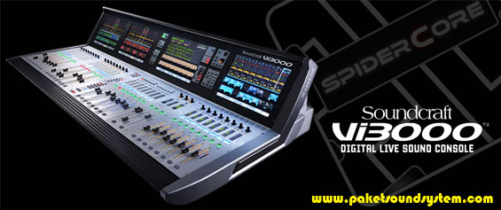 Mixer Audio Digital Soundcraft Vi3000