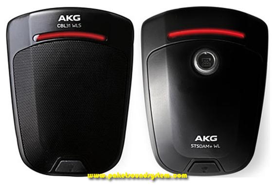 Microphone Meja Wireless AKG CBL31 WLS dan STSDAM +