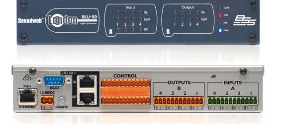 Prosesor Sinyal Audio BSS BLU-50