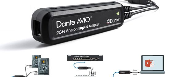 Adapter Audio Dante AVIO
