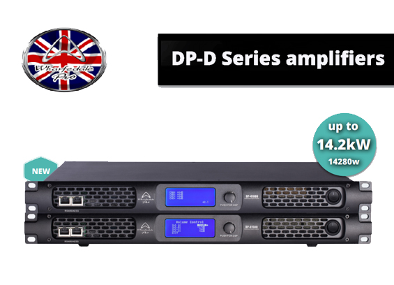 Amplifier Sound System Wharfedale Pro DP Series