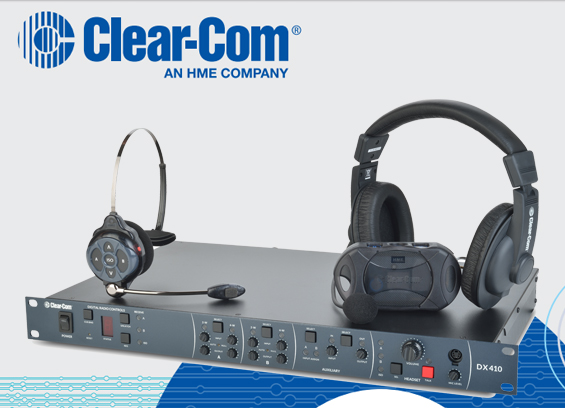 Sistem Interkom Wireless Digital ClearCom DX410