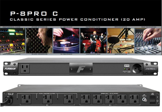 Furman Power Conditioner P-8 PRO C