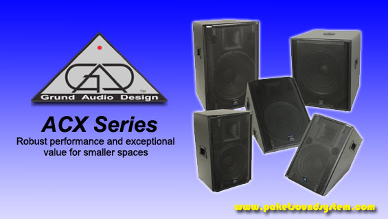 Speaker Aktif Grund Audio Design Seri ACX