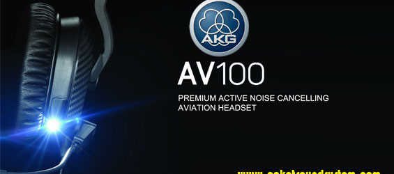 Headset Aviasi AKG AV100