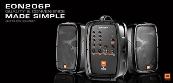 Sound System Portabel JBL EON206P