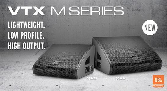 Speaker Monitor Panggung JBL Pro VTX Seri M