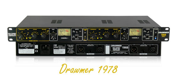 Kompresor Audio Drawmer 1978