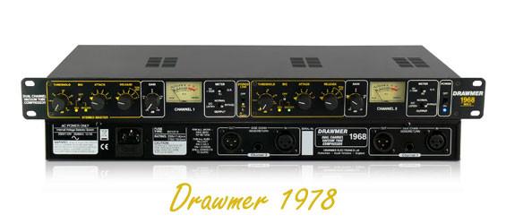 Kompresor Audio Drawmer 1978
