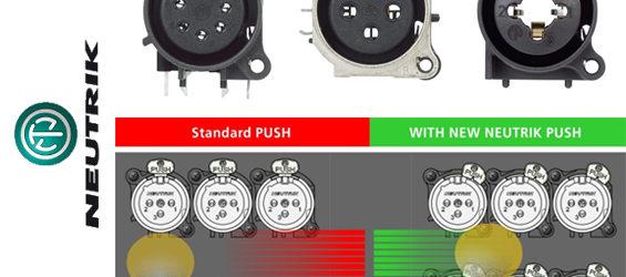 Konektor Neuktrik Asymmetrical Push Tabs