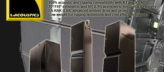 Paket Sound System Line Array L-Acoustic K2