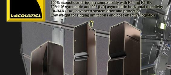 Paket Sound System Line Array L-Acoustic K2