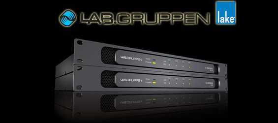 Audio Power Amplifier Lab Gruppen Seri E