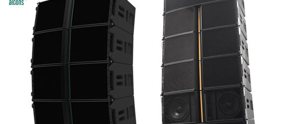 Sound System Line Array Alcons Audio LR24