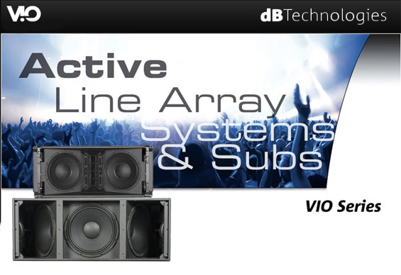 Sound System Line Array dB Technologies VIO L210