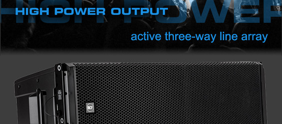 Sound System Line Array Aktif RCF HDL50-A