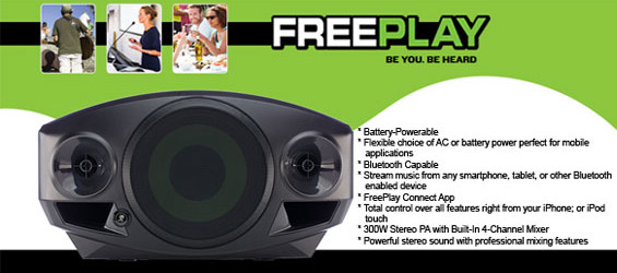 Speaker Portabel Mackie FreePlay