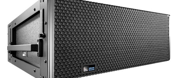 Sound System Line Array Meyer LEOPARD