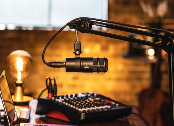 Mikrofon Podcast Dynamic Audio Technica AT2040