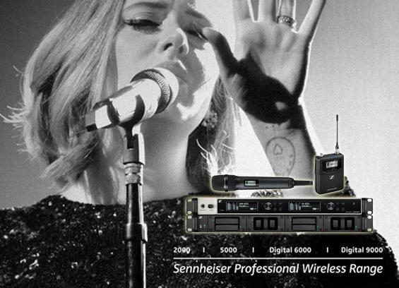 Mikrofon Wireless Sennheiser Digital 6000