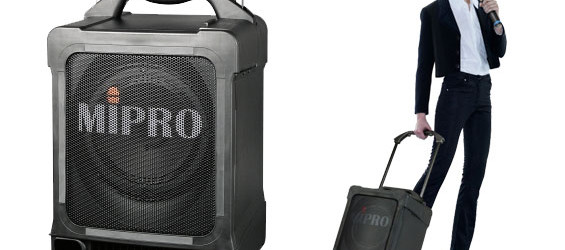 Speaker Portable Wireless Mipro MA-707