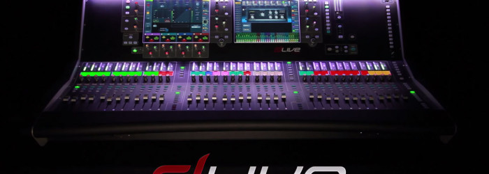 Mixer Digital Allen Heath dLive