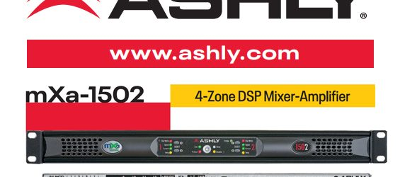 Mixer Amplifier Ashly Audio mXa-1502