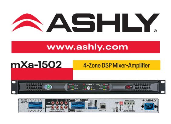 Mixer Amplifier Ashly Audio mXa-1502