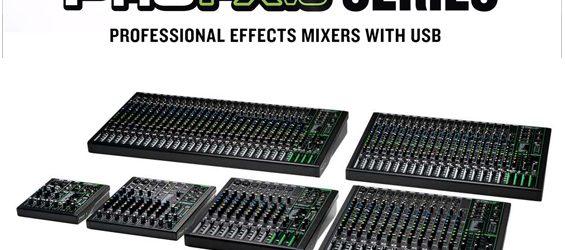 Mixer Audio Mackie ProFXv3