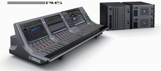 Mixer Audio Yamaha RIVAGE PM Series