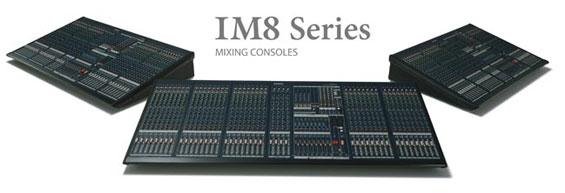 Mixer Audio Yamaha Seri IM8