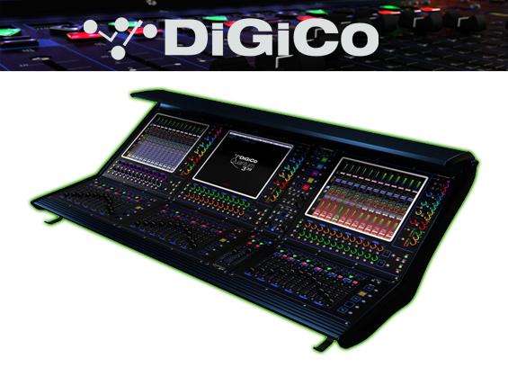 Mixer Digital DiGiCo Quantum 338