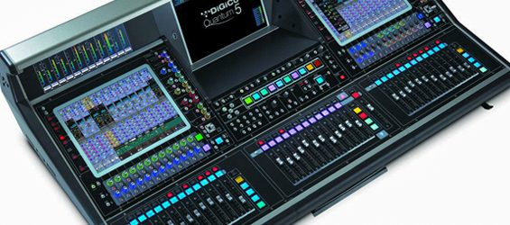 Mixer Digital DiGiCo Quantum 5