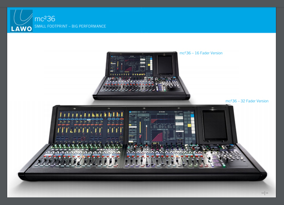 Mixer Digital LAWO mc²36