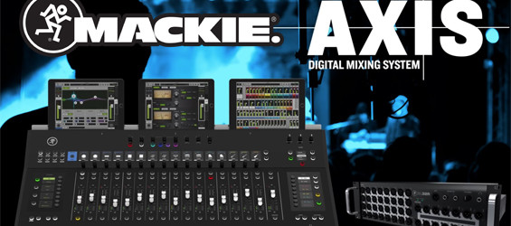 Mixer Digital Mackie Axis