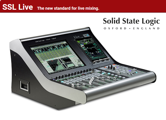 Mixer Digital Solid State Logic L100 Live