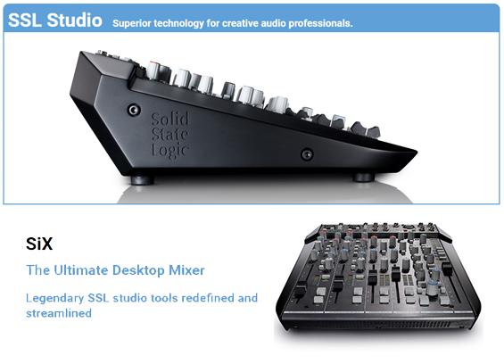Mixer Digital Solid State Logic SiX